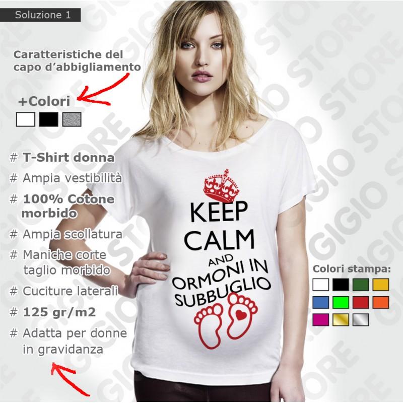 Queste Magliette da Donna Premaman Gravidanza realizzate con lavorazione pregiata, doppie cuciture, % cotone morbido, ampia vestibilità, comode da indossare sono ottime per le mamme in dolce attesa.