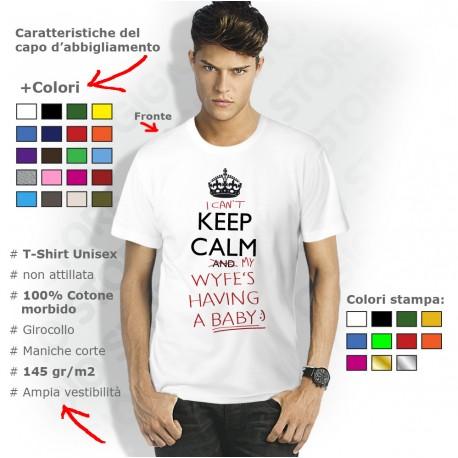 t-shirt futuro papà, magliette papà keep calm, t shirt neo papà, maglia papà bimbo, maglie personalizzate papà, maglietta papà