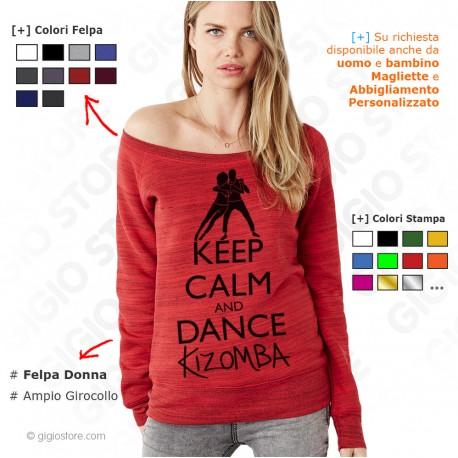 Felpa Keep Calm and Dance Kizomba, felpa keep calm and dance, felpa keep calm and dance on, Felpe Keep Calm