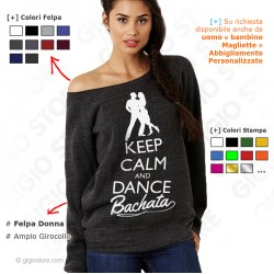 Felpa Keep Calm and Dance Bachata, felpa keep calm and dance, felpa keep calm and dance on, Felpe Keep Calm