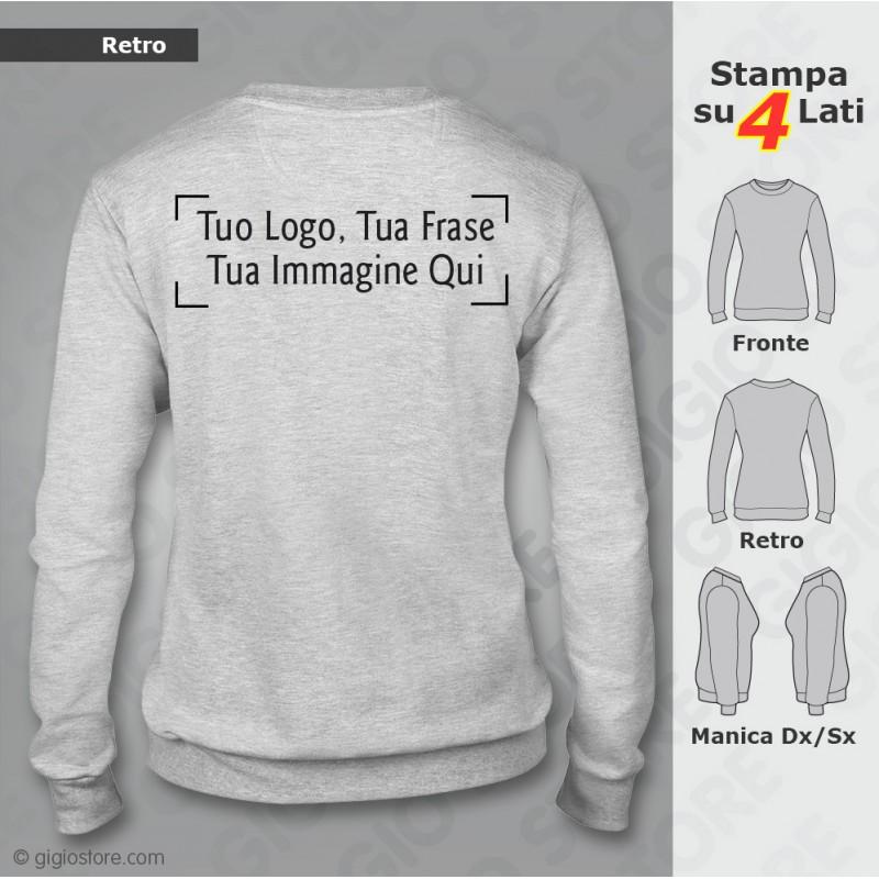 FELPE Personalizzate KEEP CALM AND con Tuo Logo | www