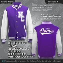 kids varsity jacket giacca college bambino felpe giacche baseball personalizzate felpa personalizzata stile college americano