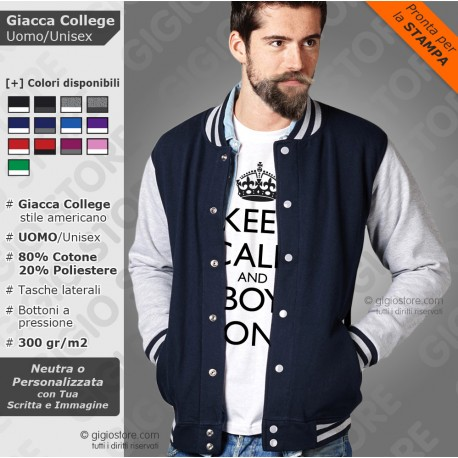 GIACCA COLLEGE Uomo