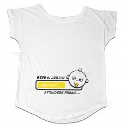 maglietta premaman loading, maglie premaman loading, maglietta gravidanza loading, magliette gravidanza divertenti