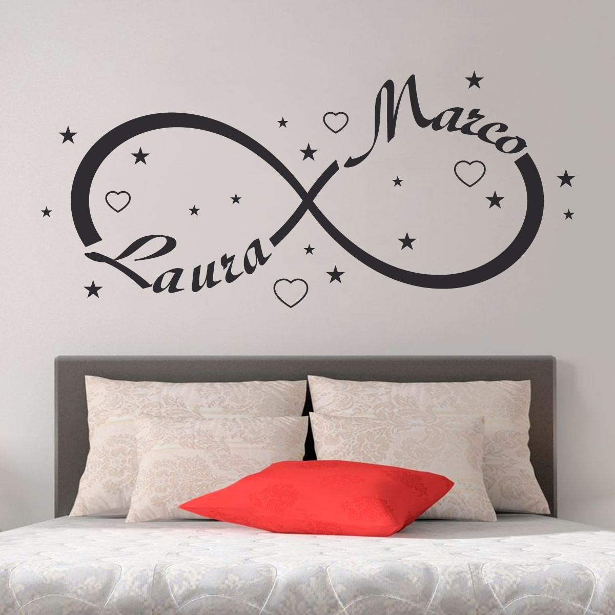Wall Sticker Adesivi Murali Camera da Letto | Gigio Store - Gigio ...