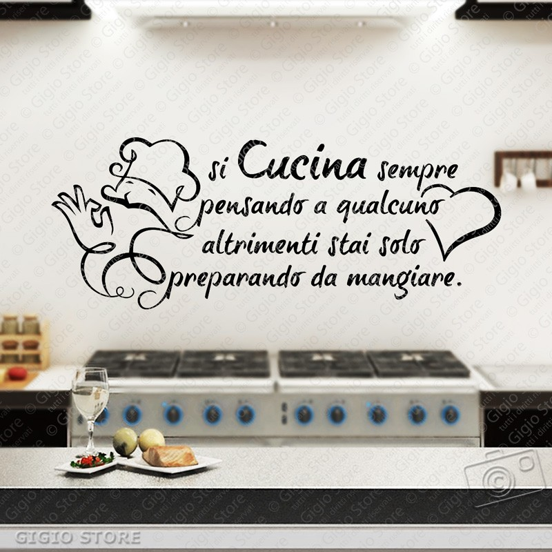 Adesivi Murali Cucina - Modelos De Casas - Justrigs.com