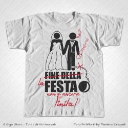 Maglietta Addio al Celibato - Fine della Festa