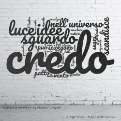 Wall Stickers Adesivi Murali Muro e superfici lisce con Frasi Citazioni stile Tag Word qualità made in Italy facile da applicare