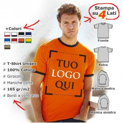 Maglietta Contrast Unisex