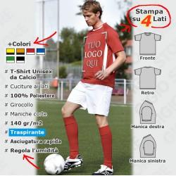Maglietta da Calcio Unisex