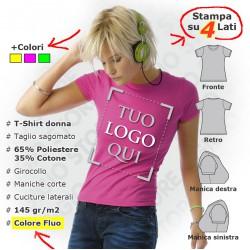 Maglietta Fluo da Donna