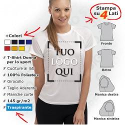 Maglietta Sportiva da Donna