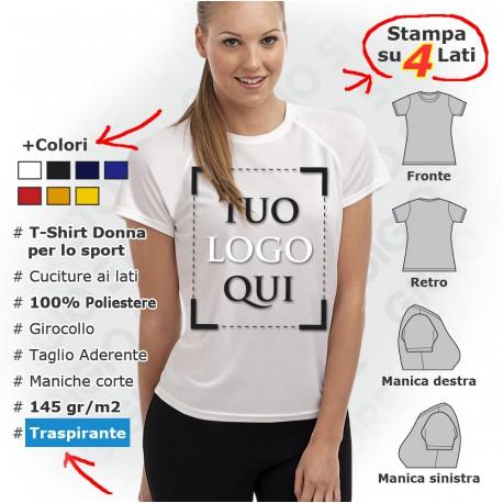78c4ef513cfb Magliette Personalizzate da Donna - Gigio Store
