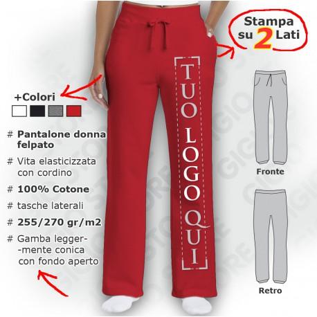 Pantalone Open Leg da Donna