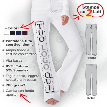 Pantalone Tuta Strech Cadet da Donna