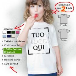 Maglietta Eco Bio per Bambini