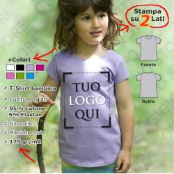 Maglietta Femminile da Bambina - Premium