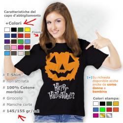 Maglietta Halloween Torn Pumpkin
